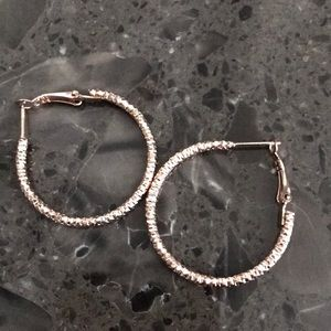 Jewelry - Rose Gold Hoops 🧡💕